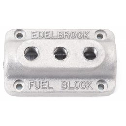 Edelbrock Fuel Block, Triple Carburetor