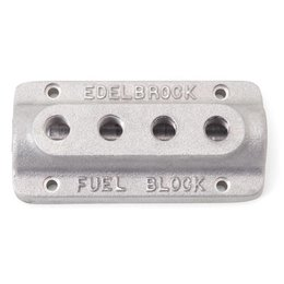 Edelbrock Fuel Block, Quad Outlet