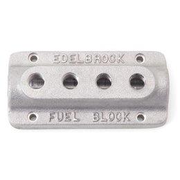 Edelbrock Fuel Block, Quad Outlet