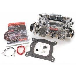 Edelbrock Carburateur, Thunder Series AVS, 500 CFM, Dual-Quad