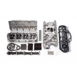 Edelbrock E-Street Top End Kit, Small Block Ford, 321HP + Carburator Deal!
