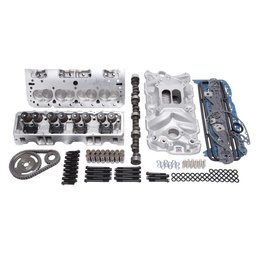 Edelbrock E-Street Top End Kit, Small Block Chevy EFI, 338HP