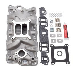 Edelbrock Manifold Installation Kit, Performer, EPS, SBC, 1957-1986, Natural Finish