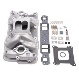 Edelbrock Manifold Installation Kit, Performer RPM, Air-Gap, SBC, 1957-1986, Natural Finish