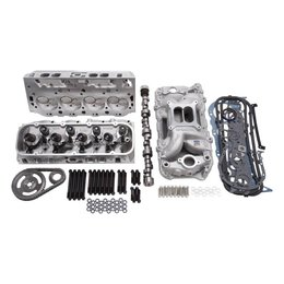 Edelbrock Performer RPM Top End Kit, Big Block Chevy, 540HP + Carburator Deal!