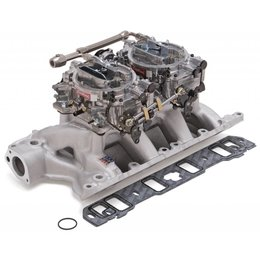 Edelbrock Dual Quad Kit. RPM Air-Gap. 351W Ford