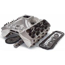Edelbrock Performer Top End Kit, Small Block Chevy, 363HP + Carburator Deal!