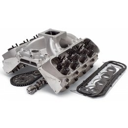 Edelbrock Performer RPM Top End Kit, Big Block Chevy, 611HP + Carburator Deal!