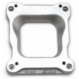 Edelbrock Spread-bore Carburetor to Victor Intakes Adapter, 0.75 Inch