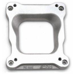 Edelbrock Spread-bore Carburetor to Victor Intakes Adapter, 0.75 Inch