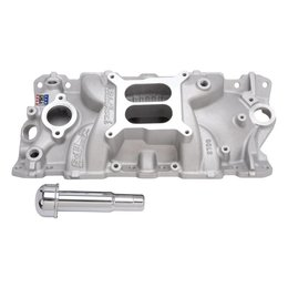 Edelbrock Performer EPS Manifold with Oil Fill Tube, Chevrolet Small Block