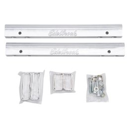 Edelbrock Fuel Rail Kit: For 389/455 PontiacVictor EFI mani PN 29565 & 29575.