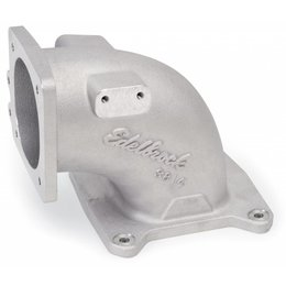 Edelbrock EFI Intake Elbow Universal 100 Deg 95Mm T.B. To 4500 Dominator Flange Tall Profile