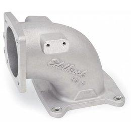 Edelbrock EFI Intake Elbow Universal 100 Deg 95Mm T.B. To 4500 Dominator Flange Tall Profile