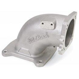 Edelbrock EFI Intake Elbow Universal 100 Deg 120Mm T.B. To 4500 Dominator Flange