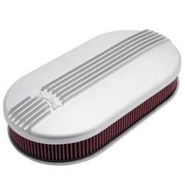 Edelbrock Oval Air Cleaner, Classic Series, Dual-Quad
