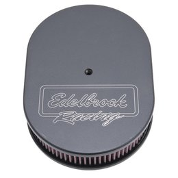 Edelbrock Oval Air Cleaner, Victor Series, Single Carburetor