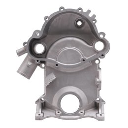 Edelbrock Aluminium Timing Cover, Pontiac 350-355