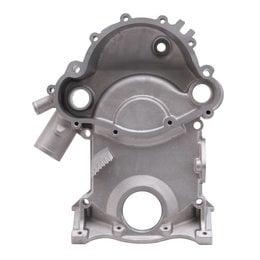 Edelbrock Aluminium Timing Cover, Pontiac 350-355