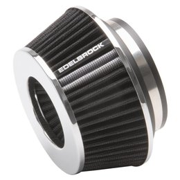 Edelbrock Conical Air Filter, Pro-Flo Series, Compact Cone