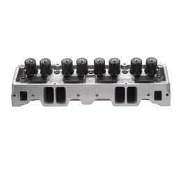 Edelbrock 1pr. CYL HEAD E-210 SBC 64cc PERF RPM (COMPLETE PAIR)