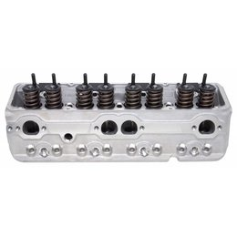 Edelbrock Single Perf. RPM SBC 70cc Angle, Head Comp.