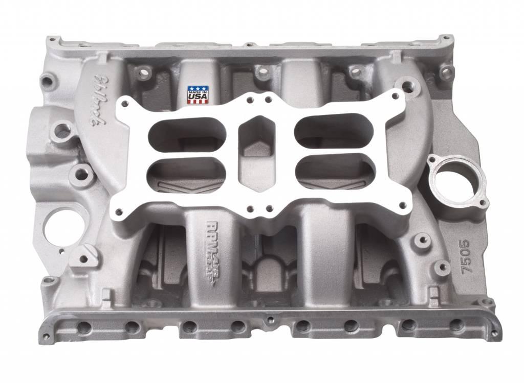 Edelbrock Performer RPM Air-Gap Dual-Quad Manifold, Ford