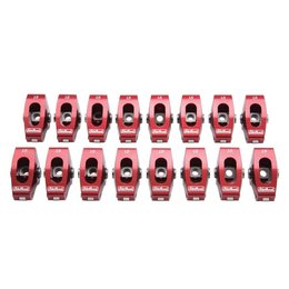 "Edelbrock Red Roller Rocker Arms, Chevrolet Small Block, 3/8"", 1.5:1 Ratio ( Wide Body)"