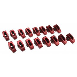 "Edelbrock Red Roller Rocker Arms, Chevrolet Big Block, 3/8"", 1.7:1 Ratio"