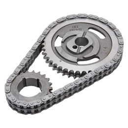Edelbrock Timing Chain And Gear Set, Ford Small Block Late