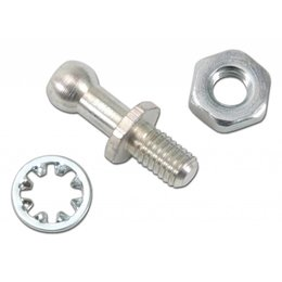 Edelbrock Ball End Stud, 0.25 inch, Ford/Holley