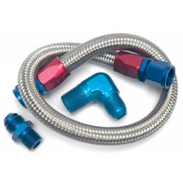Edelbrock Fuel Line Kit, 22 Inch