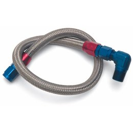 Edelbrock Fuel Line Braided Stainless, Chevrolet Small Block