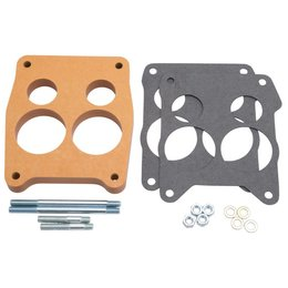 Edelbrock Q-Jet Spacer, Wood, 0.75 Inch
