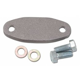 Edelbrock Chocke Block Off Plate, Oldsmobile