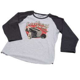 Edelbrock Women Shirt, Edelbrock Baseball Shirt
