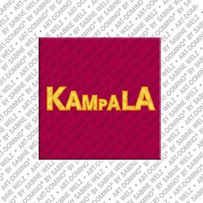 ART-DOMINO® BY SABINE WELZ Kampala – Schriftzug