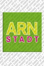 ART-DOMINO® BY SABINE WELZ Arnstadt - 00 - Schriftzug