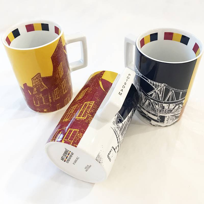 ART-DOMINO® by SABINE WELZ Potsdam CITY-MUG - 02