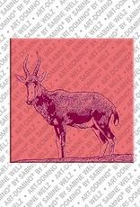 ART-DOMINO® by SABINE WELZ Animals in POP ART - Rehbock