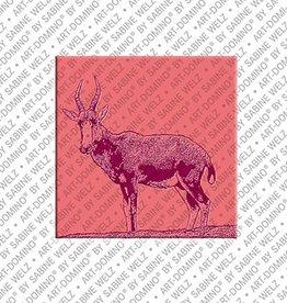 ART-DOMINO® by SABINE WELZ Magnet - Rehbock - 01