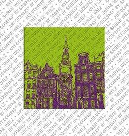 ART-DOMINO® BY SABINE WELZ Magnet Amsterdam - 05