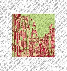 ART-DOMINO® BY SABINE WELZ Magnet Amsterdam - 07