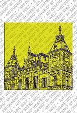 ART-DOMINO® BY SABINE WELZ Amsterdam – Central Station