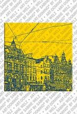 ART-DOMINO® BY SABINE WELZ Amsterdam – Damrak