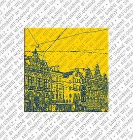ART-DOMINO® BY SABINE WELZ Magnet Amsterdam - 10
