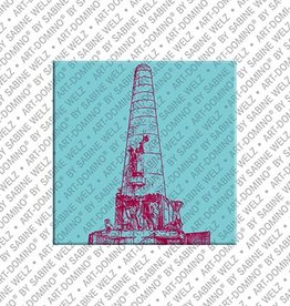 ART-DOMINO® BY SABINE WELZ Magnet Amsterdam - 11