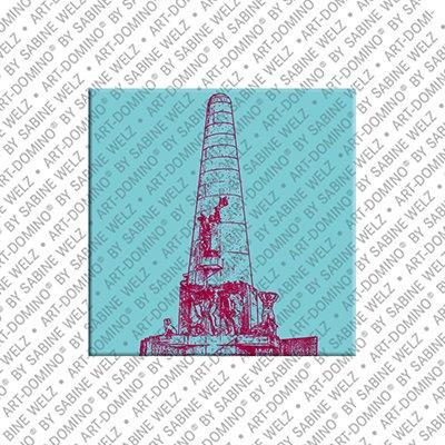 ART-DOMINO® BY SABINE WELZ Amsterdam – Nationaalmonument