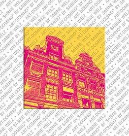 ART-DOMINO® BY SABINE WELZ Magnet Amsterdam - 12