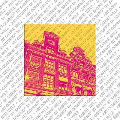 ART-DOMINO® BY SABINE WELZ Amsterdam – Häuser Herengracht